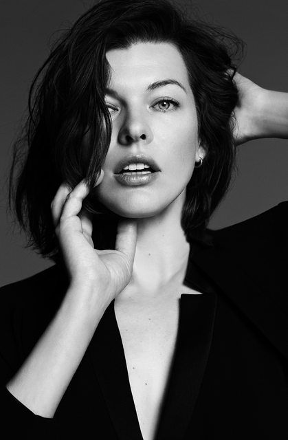 Milla Jovovich - Dario Catellani Photoshoot 2014
