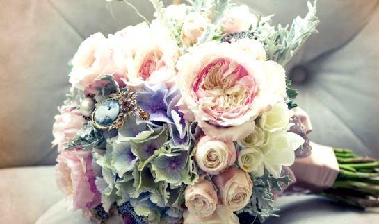 spilla in bouquet