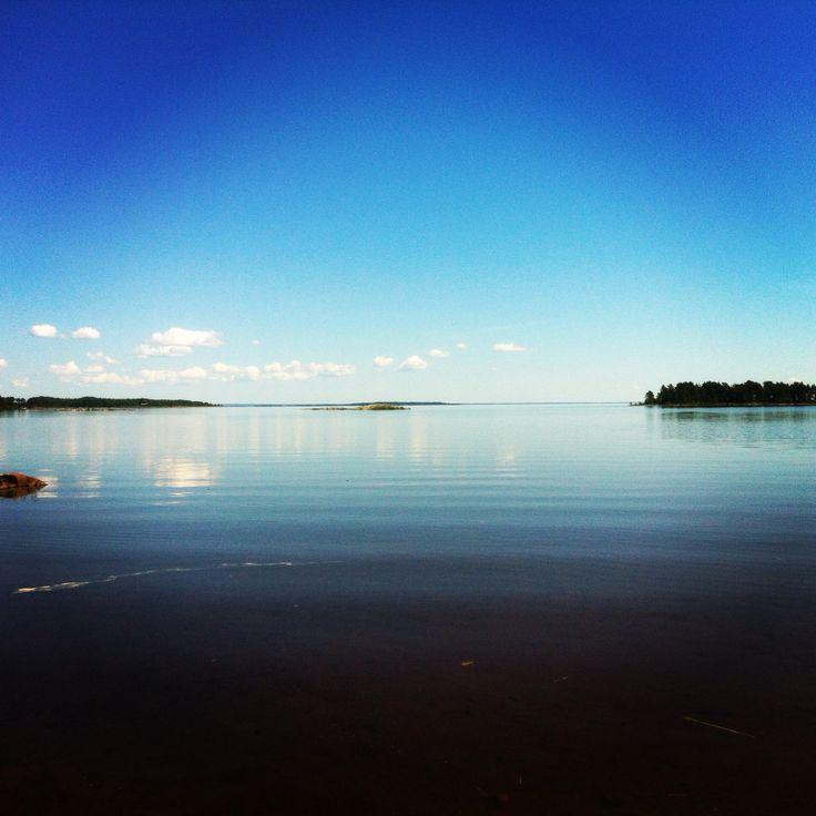 Stunning hot summer day at Getingberget, Hammarö. Best beach in Karlstad/Hammarö #Värmland #Sweden #Vänern
