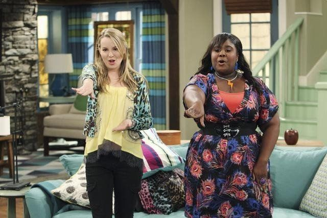 "Still of Raven Goodwin and Bridgit Mendler in ""Good Luck Charlie!"", Disney Channel"