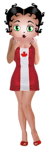 Betty Boop Canada