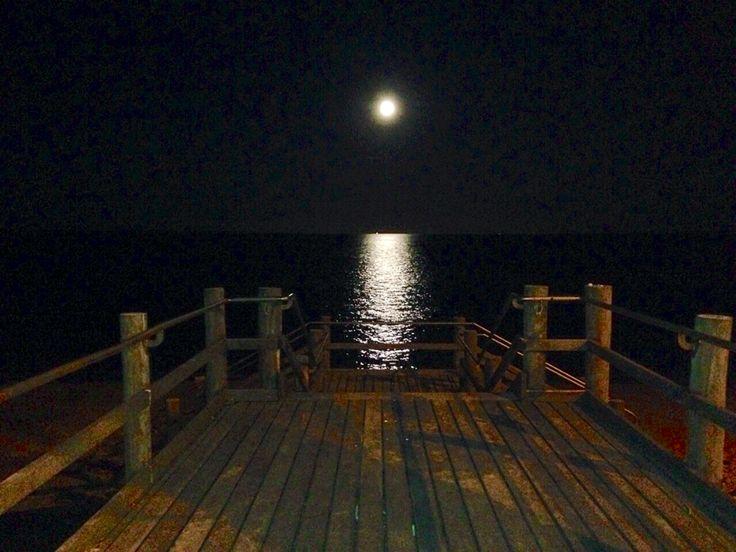 Full moon Margate Zbeach Qld