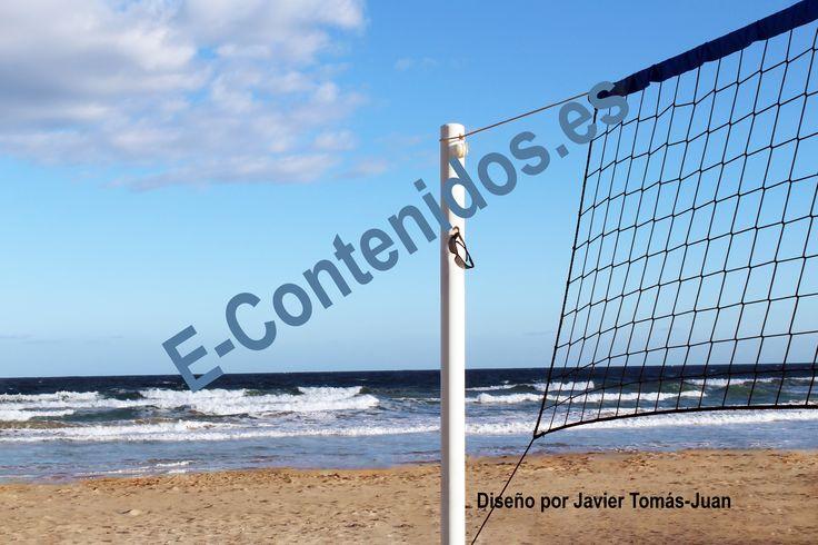 Transmite consejos sobre la práctica de deportes como el voleibol en la playa.