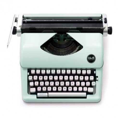 PRE-COMMANDE typecast typewriter mint