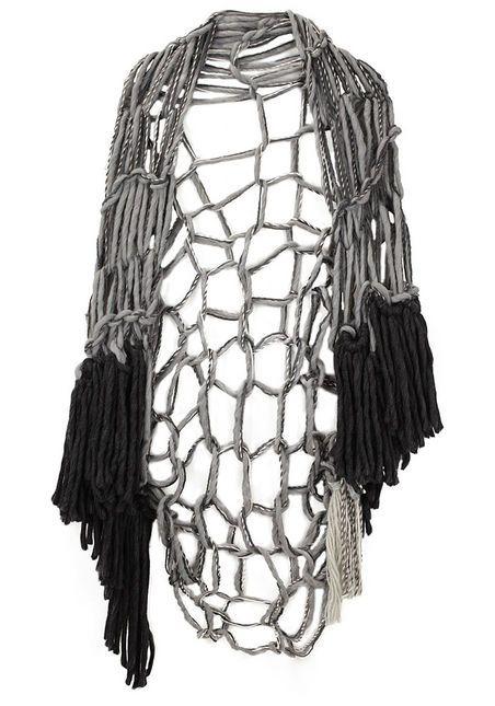 handknit shawl by wendy nichol