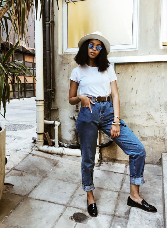finest selection c9513 717f8 We are obsessed with South African blogger Lulama Wolf s style — click her  to see and shop her look.