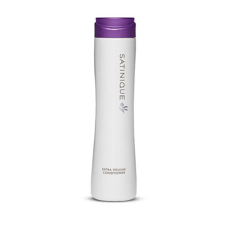 SATINIQUE™ Volumen-Pflegespülung.   Gibt dem Haar neue Fülle. Ideal für feines, dünnes oder kraftloses Haar. Das Haar sieht voll und kräftig aus.*     Reduziert statische Aufladung. Schützt vor Volumenverlust bei feuchtem Wetter.**     Sorgt für fülligeres Haar bis zu 37%** – den ganzen Tag lang.   ->http://www.amway.de/unsere-marken/satinique