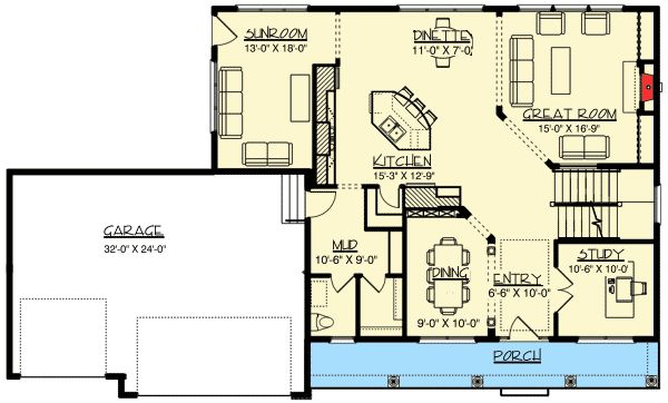 Plan 73336hs 4 Bedroom Storybook House Plan With
