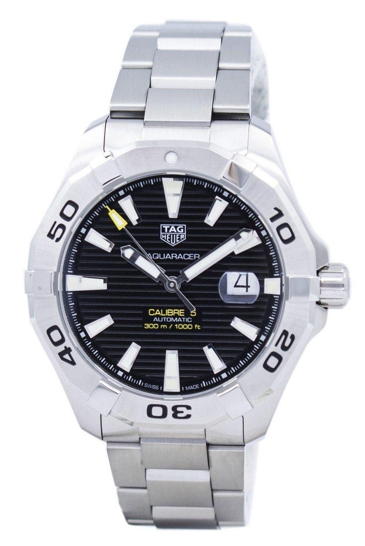 Tag Heuer Aquaracer Automatic 300m Way2010.ba0927 Men's Watch (FREE Shipping)