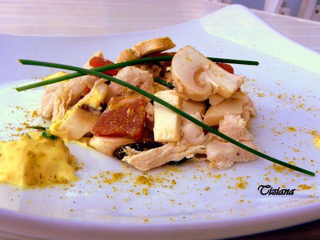 La Cucina di Titty: Insalata di Pollo al Curry