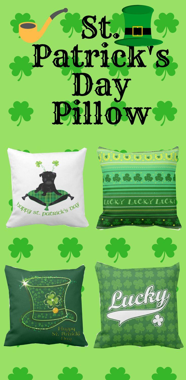 St. Patricks Day Pillows gift
