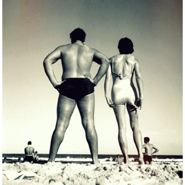 Max Dupain - Bondi, Sydney 1939 (could just as easily have been my parents on Clovelly beach 1965!)