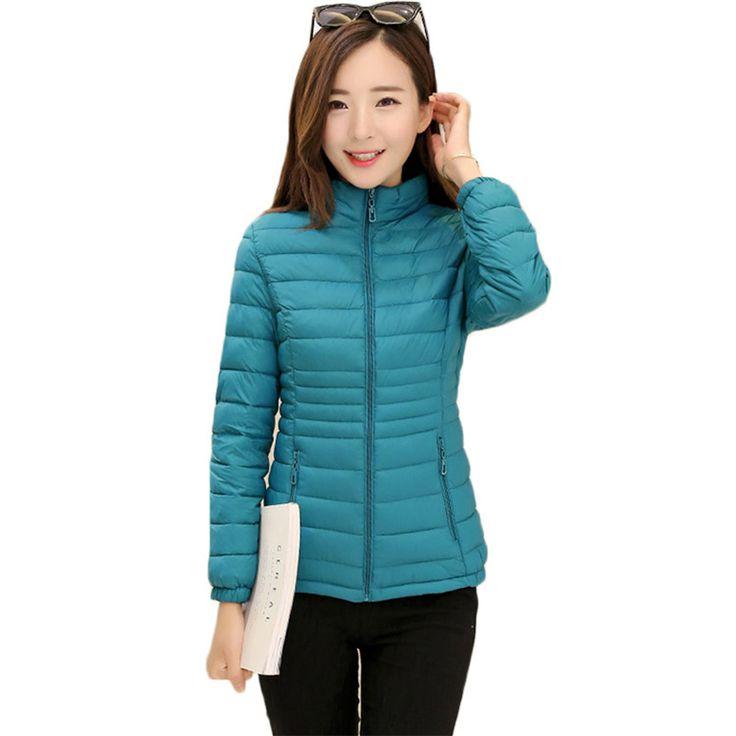 2017 Fashion Spring Autumn Short Jacket Women Parka Coat Padded Cotton Jacket Outwear Female Overcoat Warm 9 Color Plus Size Jetzt bestellen unter: https://mode.ladendirekt.de/damen/bekleidung/jacken/sonstige-jacken/?uid=cb73b5a7-9fc6-5719-ac43-b55ae7dfe28e&utm_source=pinterest&utm_medium=pin&utm_campaign=boards #sonstigejacken #bekleidung #jacken