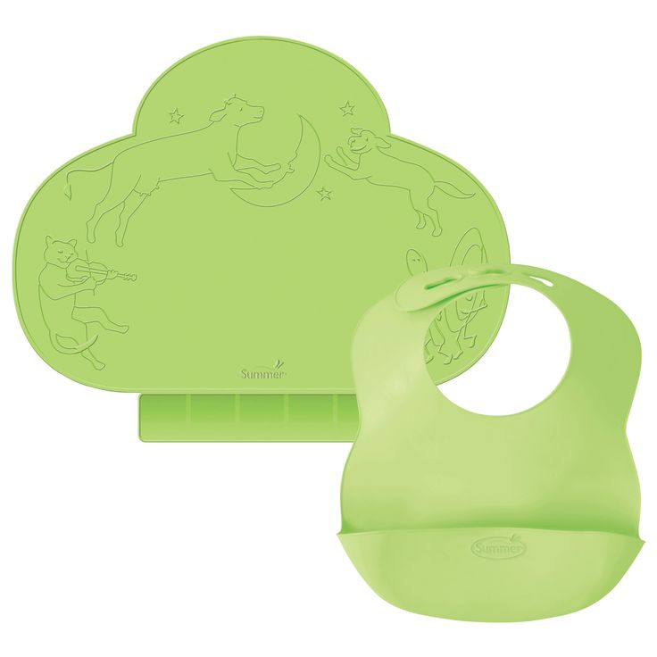 Summer Infant Kiddopotamus Tiny Diner & Bibbity Gift Set -