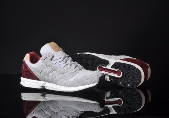 Adidas ZX8000 Clear Grey/Mars Red