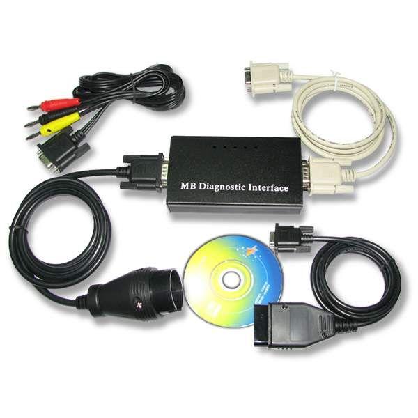 Interface dikendalikan MCU untuk Mercedes Benz Carsoft 7.4 yang kompatibel dengan antarmuka asli. Kabel adaptor untuk Sprinter tersedia juga dan harus dibeli secara terpisah jika diperlukan.