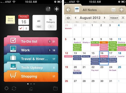 Awesome Note (+ToDo) app | Organization and Productivity (9-15) - The 100 Best iPhone Apps | PCMag.com