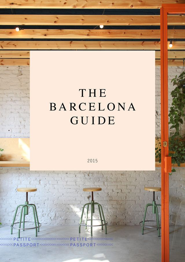 THE BARCELONA GUIDE                                                                                                                                                     More