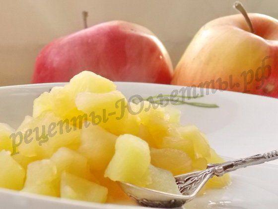 яблочная начинка для пирогов и блинчиков