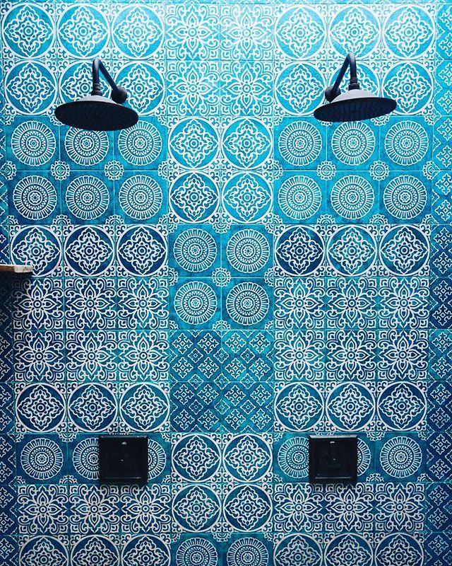4 Quarters Bali, villas, Bathroom, showers, Tiles, Industrial Chick