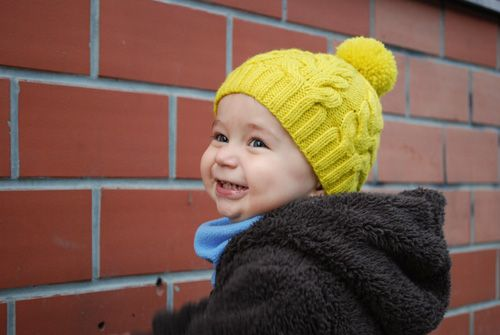 Free Knitting Pattern Baby Child S Hat Cable 4mm Needle