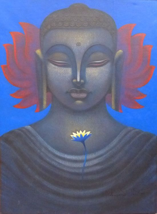 """""""Your own positive future begins in this moment. All you have is right now. Every goal is possible from here.""""    ~  Lao Tzu  Artist:  Makrand Jadhav   <3 lis"""