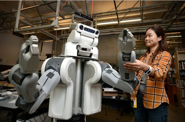 Mechanical Engineering PhD student AJung Moon is designing ethical robots.