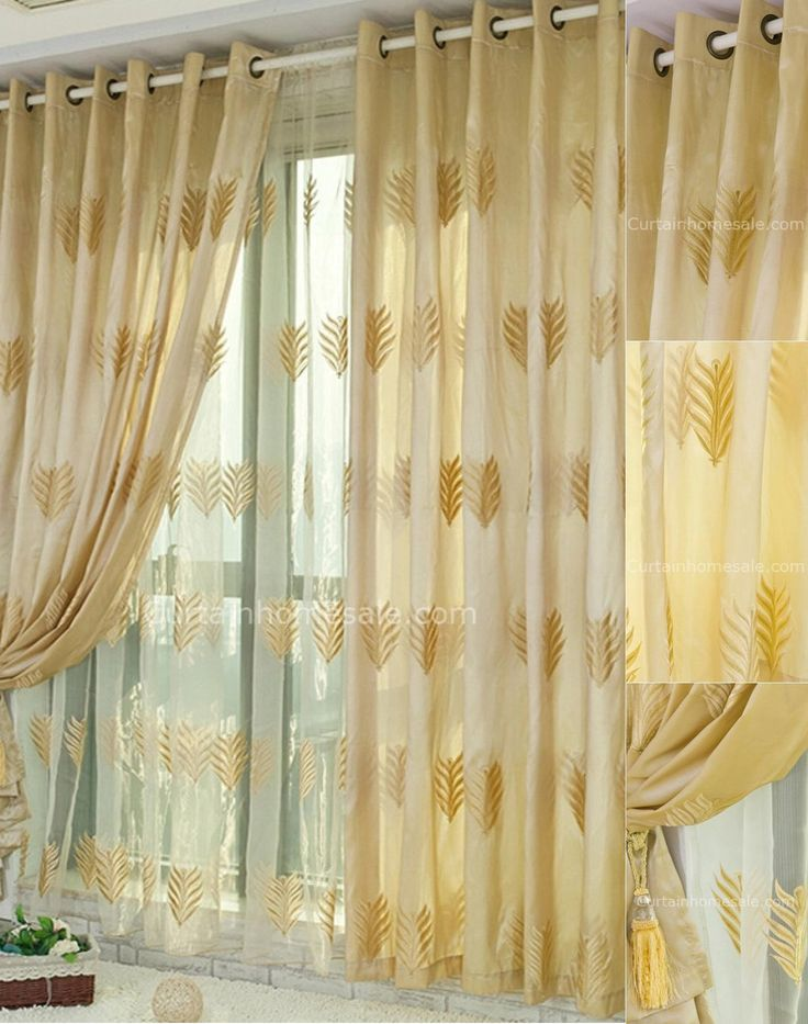 1000 Ideas About Gold Curtains On Pinterest