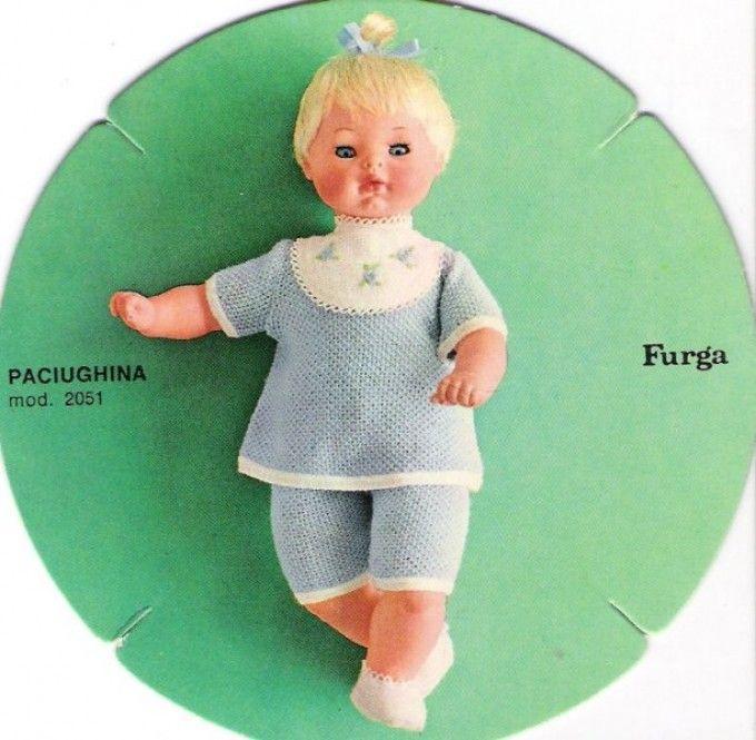 Paciughina Furga bionda catalogo dolly do 1970