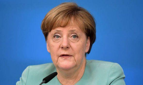 Angela Merkel hands Britain olive branch