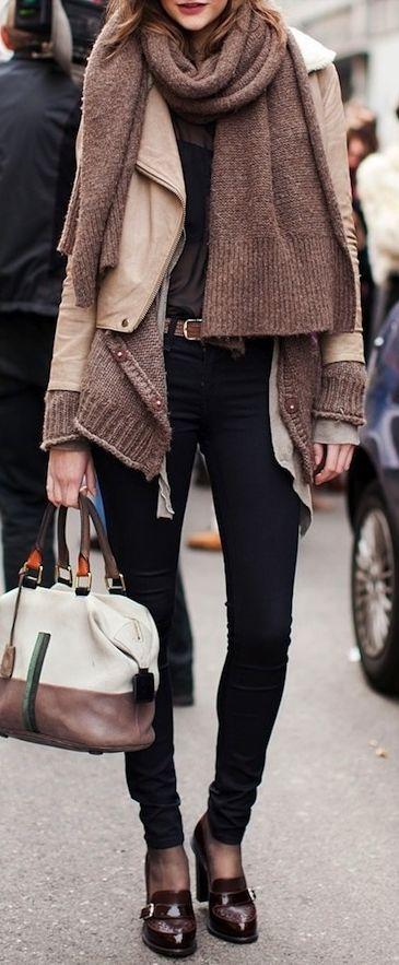 #neutrals • Street CHIC • ❤️ вαвz ✿ιиѕριяαтισи❀ #abbigliamento