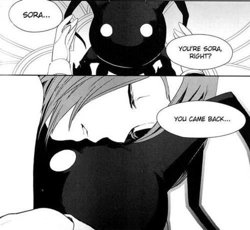 Sora & Kairi, that made me kinda sad :'(