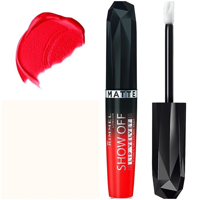 Η αποκάλυψη στα χείλη σας έρχεται τώρα με τα υγρά κραγιόν από τη Rimmel London, Apocalips Matte Lip Laquer! Με mousse σύσταση που στεγνώνει γρήγορα, αφήνει ένα μοναδικό ματ, βελούδινο τελείωμα στα χείλη σας! Με υψηλή περιεκτικότητα σε pigments, χαρίζει απίστευτα έντονο χρώμα, που διαρκεί για π