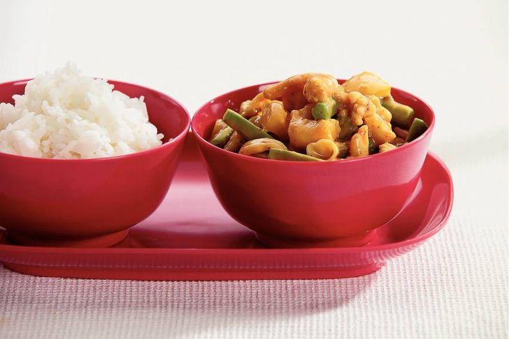 Thaise curry met zeevruchten