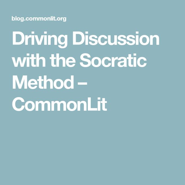 a discussion of the ideas of socrates and crito In the discussion, socrates argues that if  in plato's crito, socrates refuses to escape from prison on  is the doctrine of the forms or ideas—that socrates.