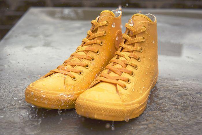 Zapatillas Converse de agua / Chuck Taylor All Star Waterproof Rubber Rain Sneaker #kids