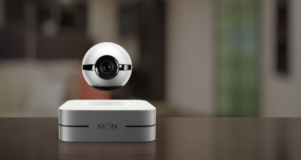 Moon by 1-Ring: World's first levitating camera and smart home hub #smarthome#gadget#smart wearable