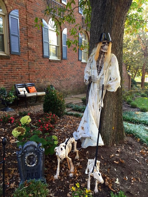 Halloween 2016 Yard Decorations