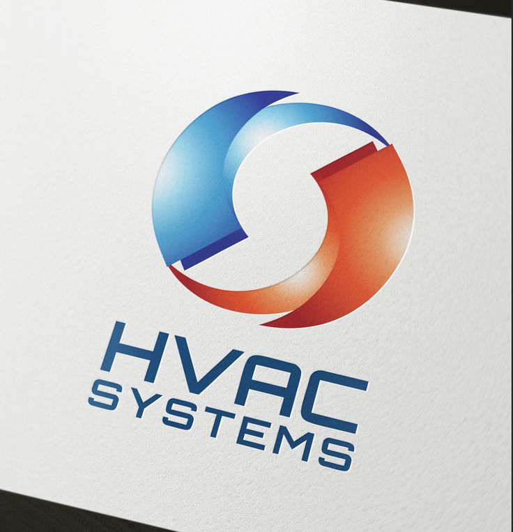 This logo is ideal for air condition company, home heating system company, etc.