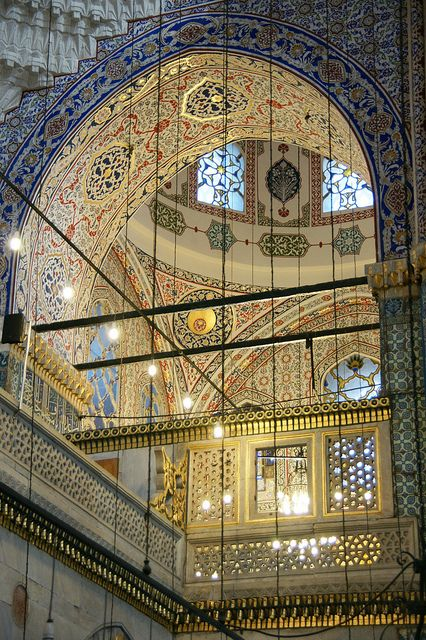 Istanbul (TURKEY) - Yeni Valide Cami (New Mosque)