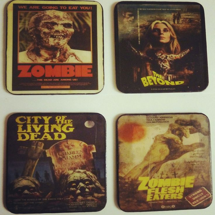 Lucio Fulci Fans Eat you Heart out. Literally.. Coaster Set Now available!