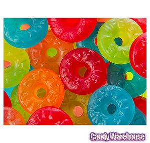 Gummi life savers