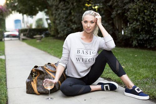 Favorite Wino's - Stassi Schroeder from Vanderpump Rules and Straight Up With Stassi Podcast. www.sensiblewino.com Basic Witch Pullover Sweatshirt — Basic Witch