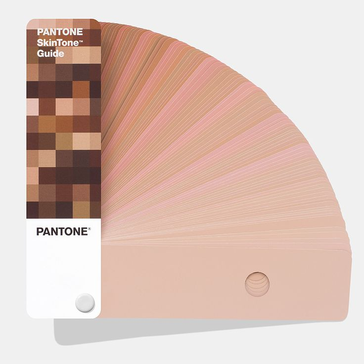 The PANTONE SkinTone Guide was created by scientifically measuring thousands of actual skin tones across the full spectrum of human skin types. Specially formulated to be the closest physical representations of skin colors, the library is a comprehensive visual reference of human skin tones for use in any market where skin colors are relevant.