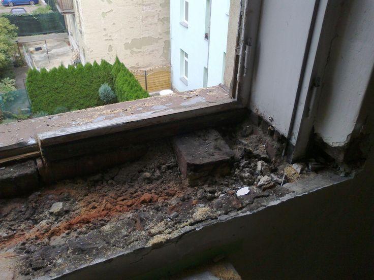 demontáž kastlových oken