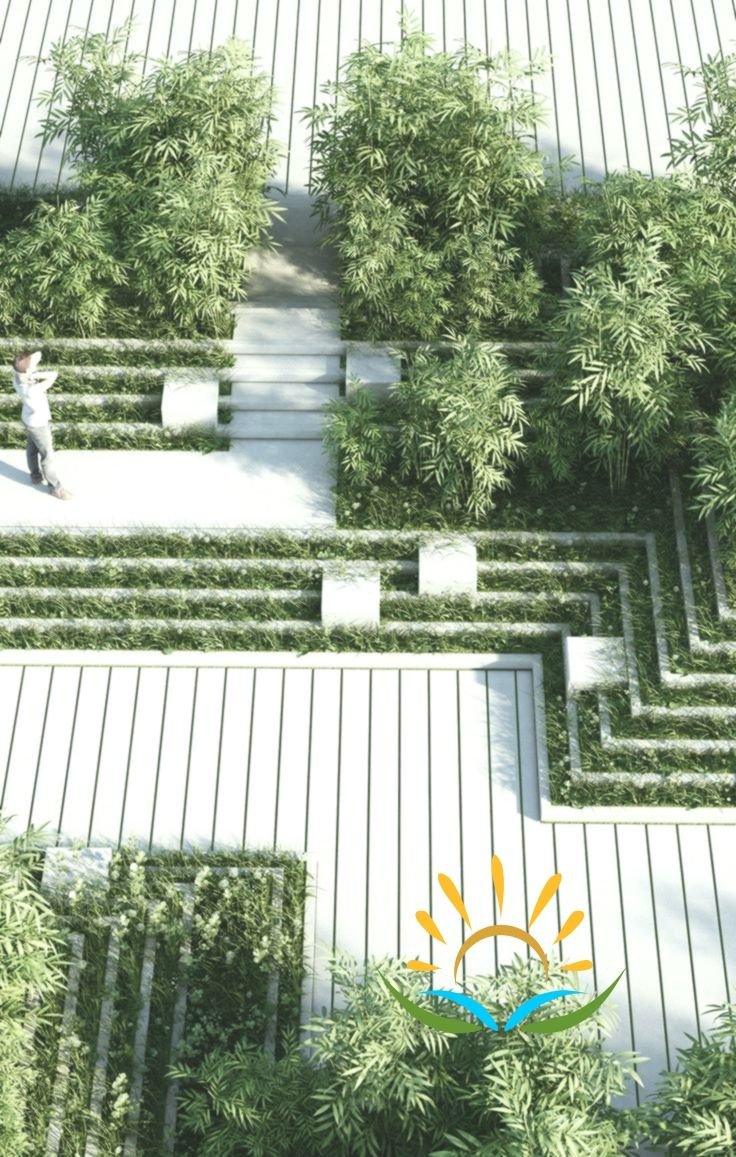 Magic Breeze Landscape Design By Penda With Images Landscape And Urbanism Architecture Landscape Design Landscape Architecture