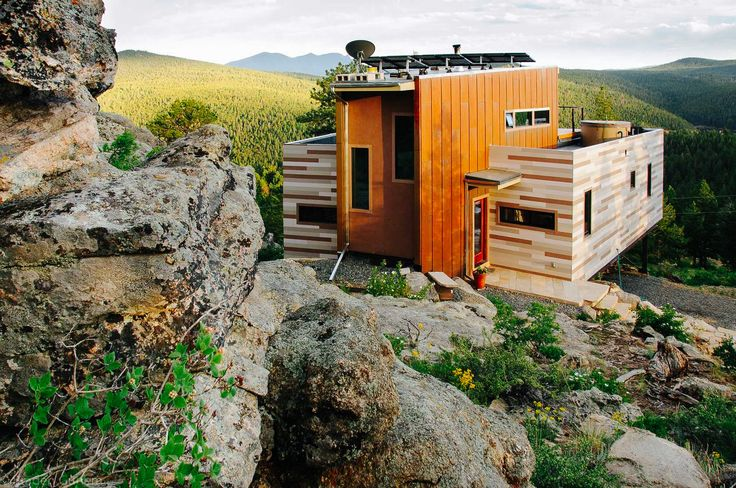 20 Cool As Hell Shipping Container Homes - Mountainside Container House...