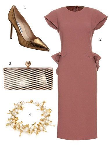 What To Wear To a Wedding 2013 - City Wedding Guest Fashion - Marie Claire#slide-7