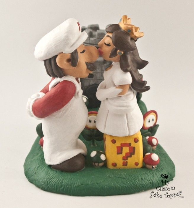 Best 22 Fun and Games Wedding Cake Topper images on Pinterest | Cake ...