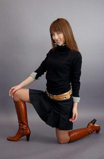 女装_ブラウンロングブーツ | ファッション, ハイヒール ...